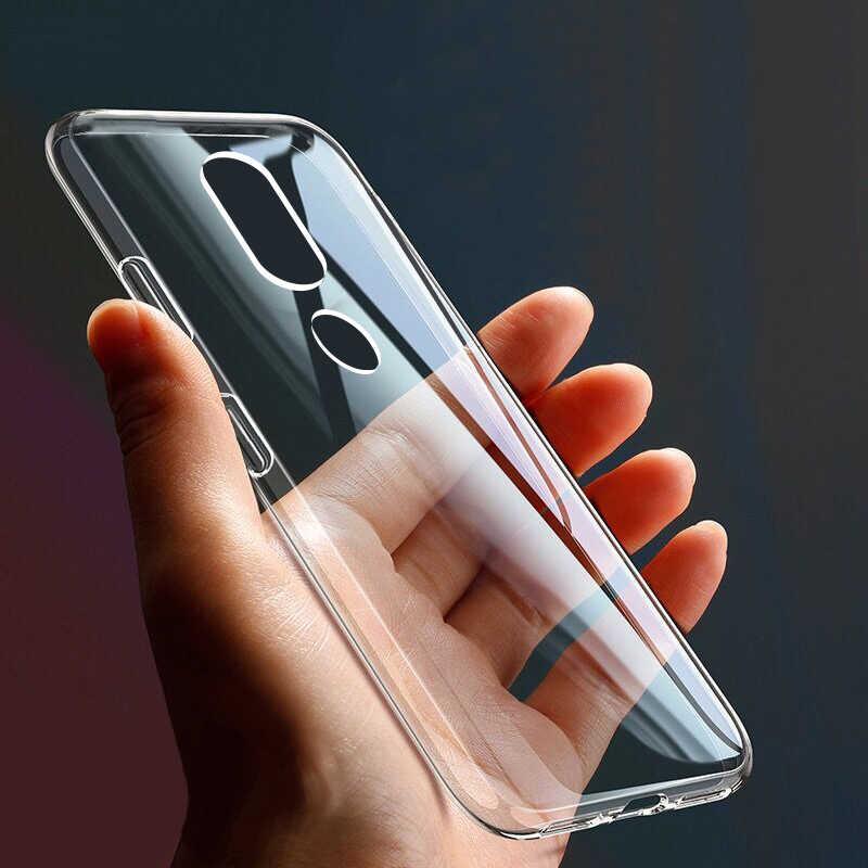 شفافة لينة TPU غطاء من السيليكون ل نوكيا 1 2 3 5 6 8 7 زائد X5 X6 X7 2.1 3.1 5.1 6.1 7.1 8.1 2.2 3.2 4.2 6.2 7.2 غطاء الهاتف