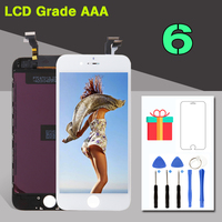 AAA Qualtiy Display Touch Screen Digitizer For IPhone 6G Assembly Replacement Factory LCD Wholesale All Tested