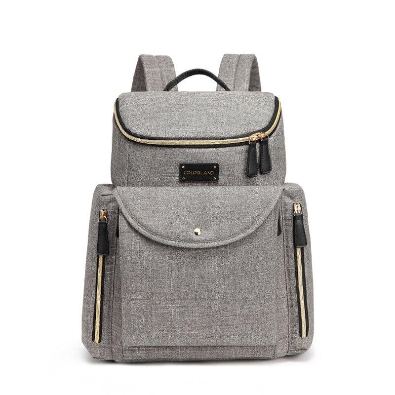 цена на Baby Diaper Bag Nappy Bag Waterproof Mochila Maternity Mummy Travel Backpack Nursing Shoulder Bag Baby Care Stroller Handbag