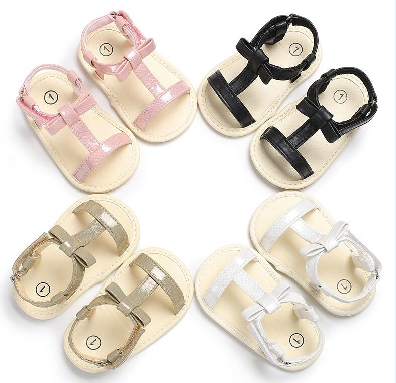New Style Baby Girls Boys Sandals Shoes Soft Sole Newborn Summer Footwear Infant Shoes for Baby Non-slip Kids Dress