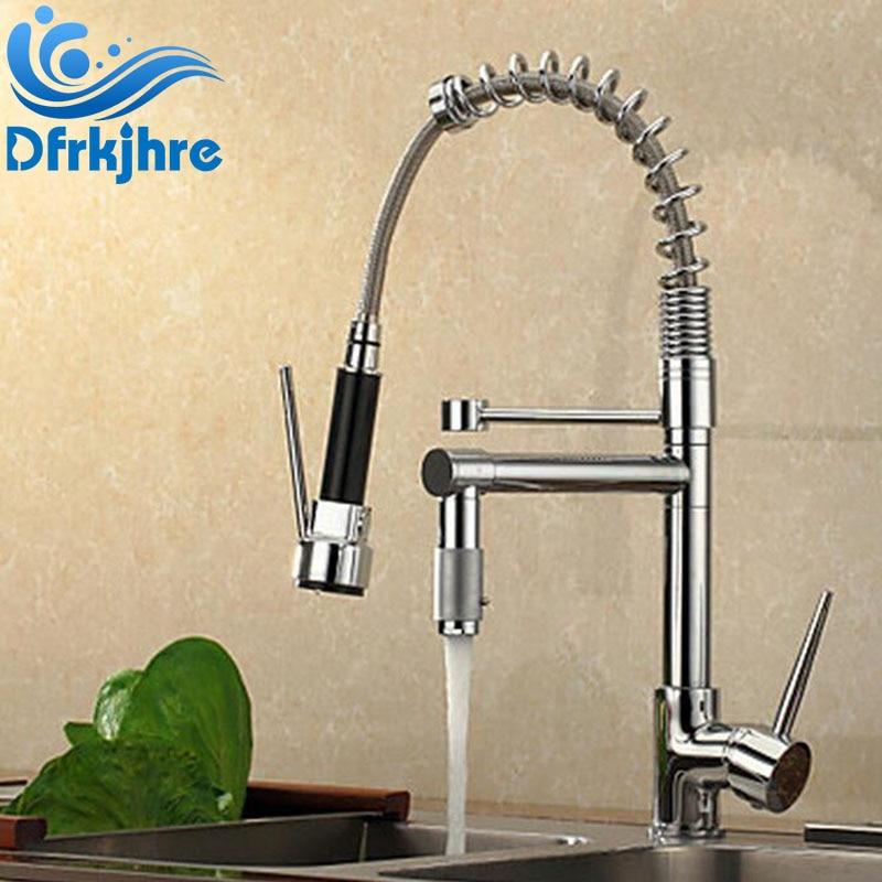 Kitchen Sink Faucet Pull Out Faucet Mixer Valve Single Handle Faucets Torneira De Cozinha Cocina цена 2017
