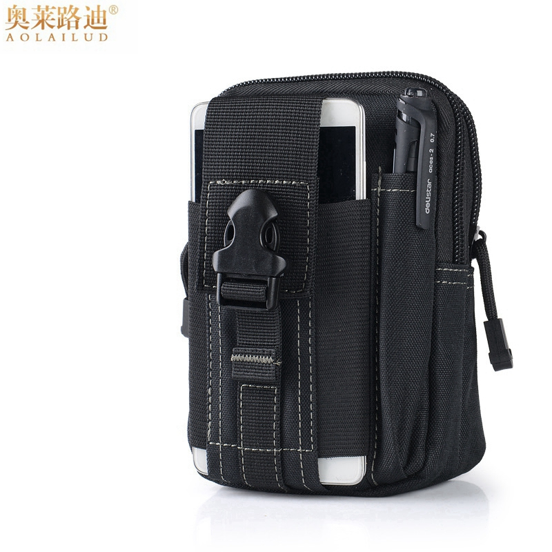 Multifunction Casual Waterproof Canvas Belt Bag Men Waist Pack Money Belt Purse Military Waist Bag Hip Bum Bag Small Waist Pouch