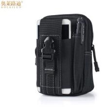 цена на Multifunction casual waterproof canvas belt bag men waist pack money belt purse military waist bag hip bum bag small waist pouch
