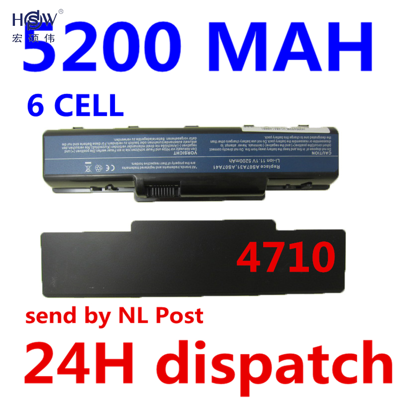 HSW 6cell Laptop Battery for Acer Aspire 4710 4720 5335Z 5338 5536 5542 5542G 5734Z 5735 5735Z 5740G 7715Z 5737Z 5738 Bateria 50 4cg15 001 lcd cable with touch screen port fit for acer 5738 5338 5538 5542 5536 series laptop motherboard