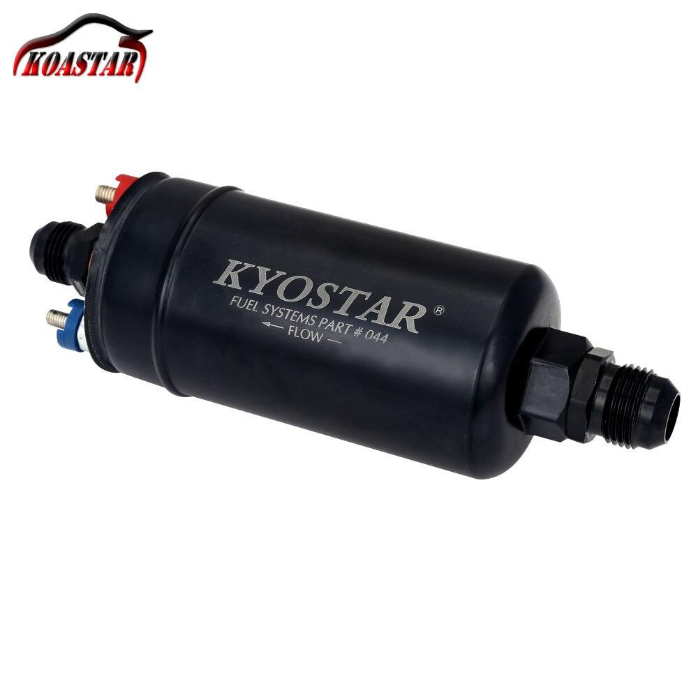 044 топливный насос KYOSTAR EFI 380 ЛПХ E85 внешний топливный насос 1000 hp Совместимость Топливный насос с 10 8 место