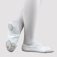 Girls Ballet Shoes Dancing For Women Soft Canvas Practice Leather Sole Ballerina 5 Colors