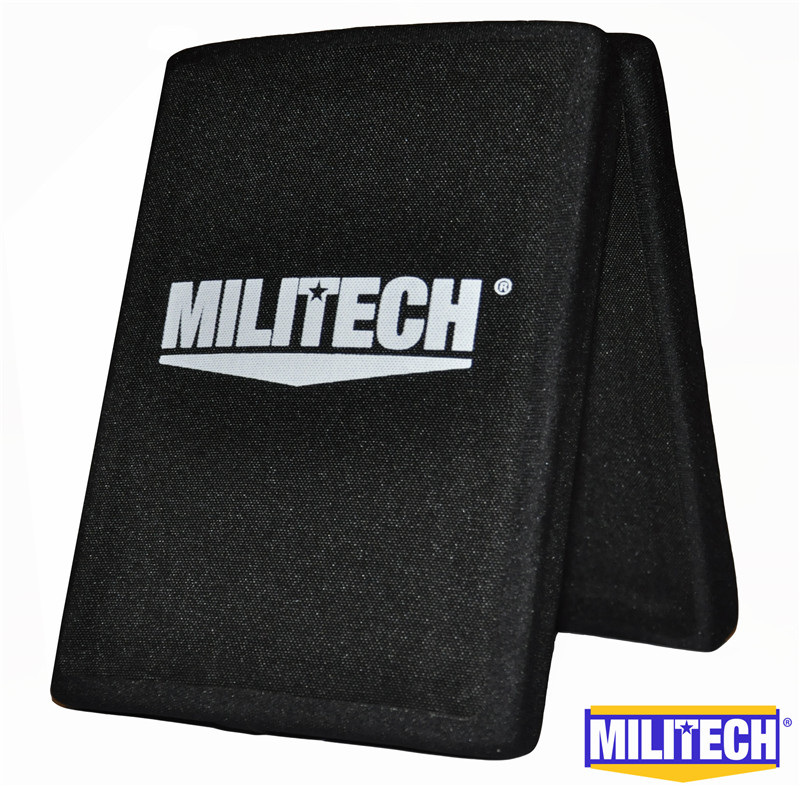Free Shipping! MILITECH 6'' x  8'' Two Pieces Of Alumina & PE NIJ IV Bulletproof Side Panels NIJ IV Stand Alone Ballistic Panels 5 pieces free shipping ct machine brushes german imports of raw materials with silver graphite 6 6 20mm