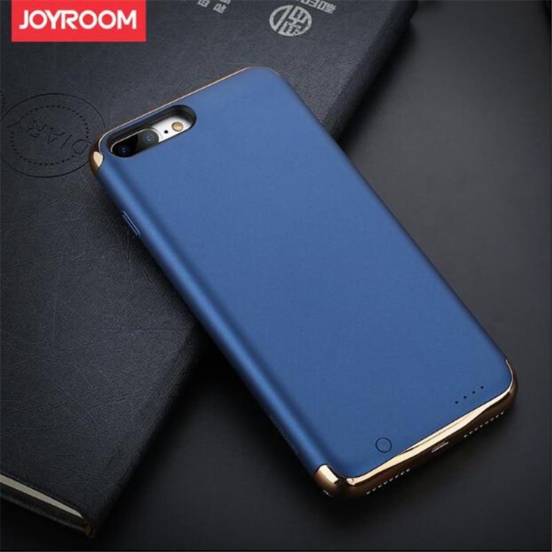 imágenes para Joyroom 2300 mah 3500 mAh Clip Trasero Del Cargador de Batería Banco de la Energía para iphone 7 7 plus función soporte para teléfono móvil de energía caso