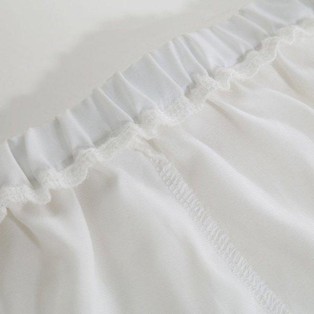 1PCS Sexy Shorts Tracksuit Hollow Satin Lace Women Shorts Casual Summer High Waist Short Feminino Shorts Solid Black White Color 8
