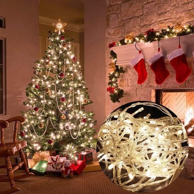 luminous led fairy string lights 30m lamp 300 led lights christmas