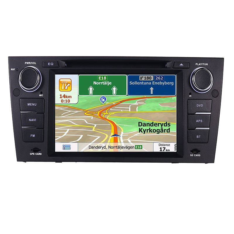 """Image 2 - Capacitive 7""""Touch Screen car gps navigation for bmw e90 E91 E92 GPS 3G Bluetooth Radio USB SD Steering wheel Free map Camera-in Car Multimedia Player from Automobiles & Motorcycles"""