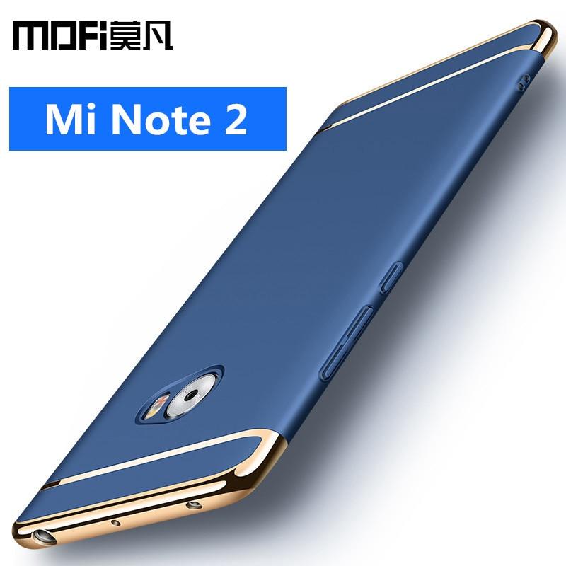 Xiaomi mi nota 2 caso mi note2 capa traseira capa protetora dura telefone capas de luxo mofi original xiaomi mi nota 2 casos e capas
