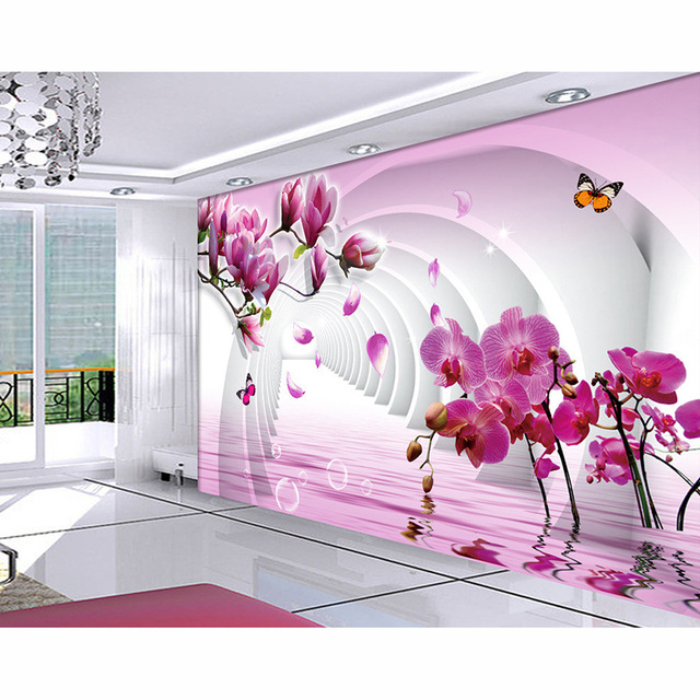 picture in picture 3D Photo Murals Wall Paper Beautiful Landscape ...