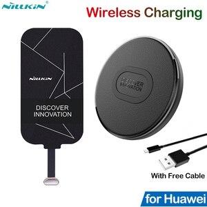 Image 1 - Nillkin Qiไร้สายชาร์จสำหรับHuawei Honor 10 20 30 8X Mate 9 10 20 P20 P30 Pro P40 Lite Pสมาร์ทZ Charger Receiver