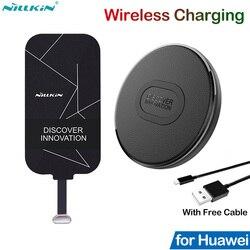Nillkin Qi bezprzewodowe ładowanie dla Huawei Honor 10 20 8X V20 Mate 10 20 P20 P30 Pro Lite Nova 3 4 5 5i P Smart Z odbiornikiem ładowarki w Ładowarki do telefonów komórkowych od Telefony komórkowe i telekomunikacja na