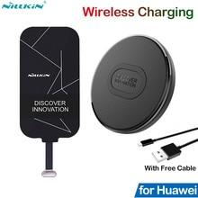 Nillkin Sạc Không Dây Chuẩn Qi Cho Huawei Honor 10 20 30 8X Mate 9 10 20 P20 P30 Pro P40 Lite P Smart Z Sạc Đầu Thu