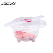 LAMEILA Beauty Mask Bowl diy Homemade Compressed Face Mask Bowl with Measuring Spoon Stir Cap Cosmetic Mixing Face Care set tool
