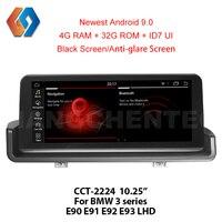 Px6 For BMW e90 Android 9.0 3 Series E91 E92 E93 with iDrive Car GPS Radio e90 Multimedia Built in Bluetooth TV WiFi DVR LHD24