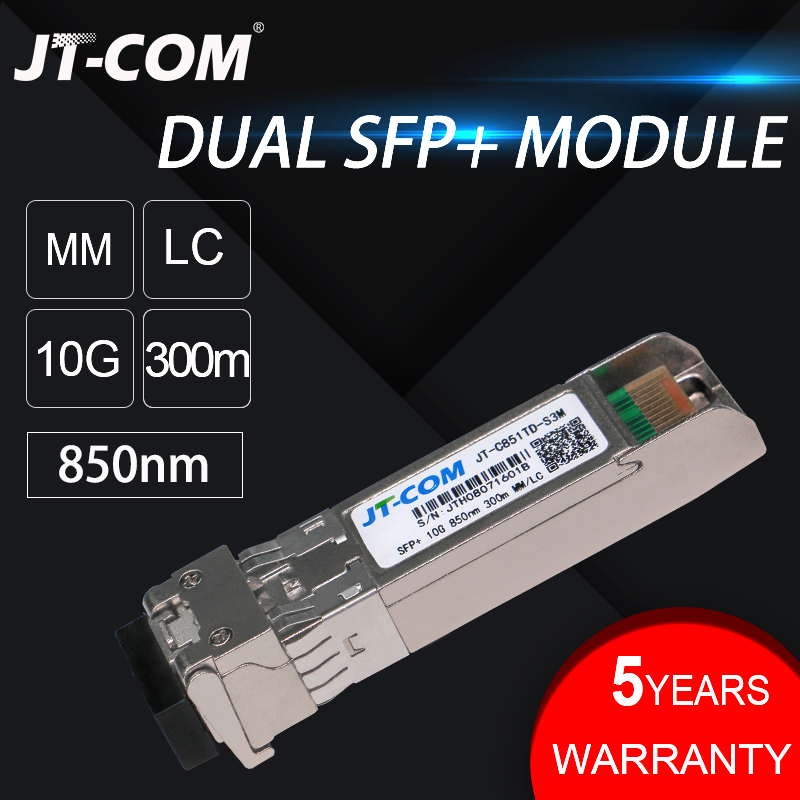 Image 4 - 10Gb 300m MM SFP Module Multimode Duplex Fiber Transceiver LC Optical Connector SFP 10G SR Compatible with Cisco Mikrotik Switch-in Fiber Optic Equipments from Cellphones & Telecommunications