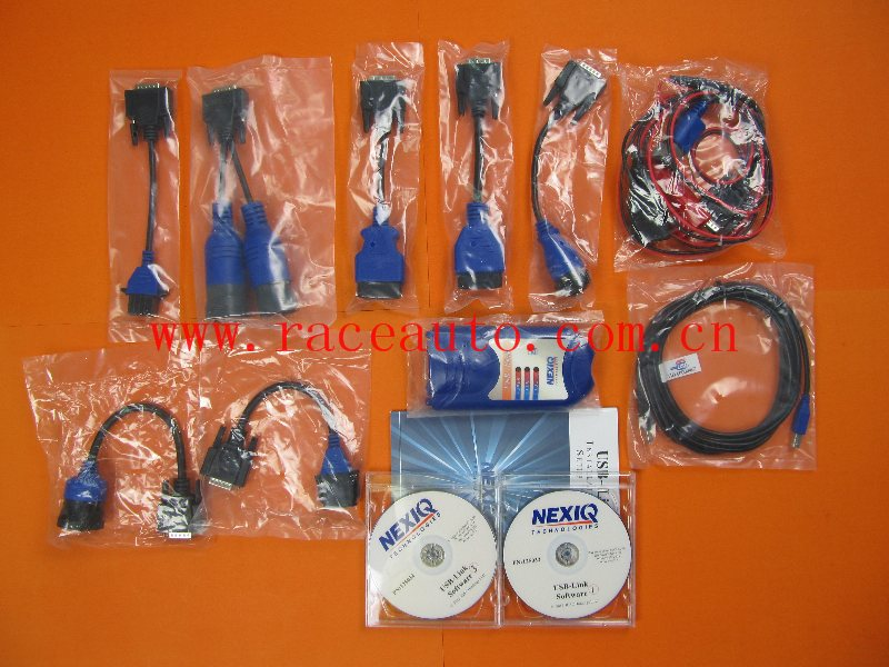 Heavy truck diagnostic tool Nexiq USB Link 125032 with full adapters and software work for diesel truck  цены
