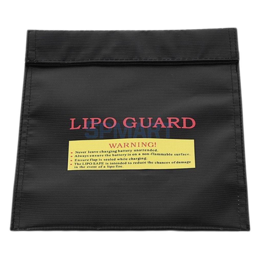 300 x 230 mm RC Lipo Li-Po Battery Protection Bags Guard Charging Safety Bag Sack Waterproof Fireproof