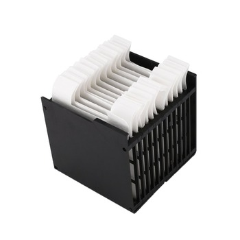 16 Pieces Mini Air Cooler Filter Air Conditioning Cooler Fan Lin Filter Paper Universal Type Dust Free Air Conditioner Parts