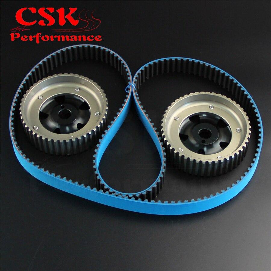 Cam Gear w/ Timing Belt Kit Fits For Toyota MR2 3S GE 174T 97 99/98 05 Celica VVTI - 4