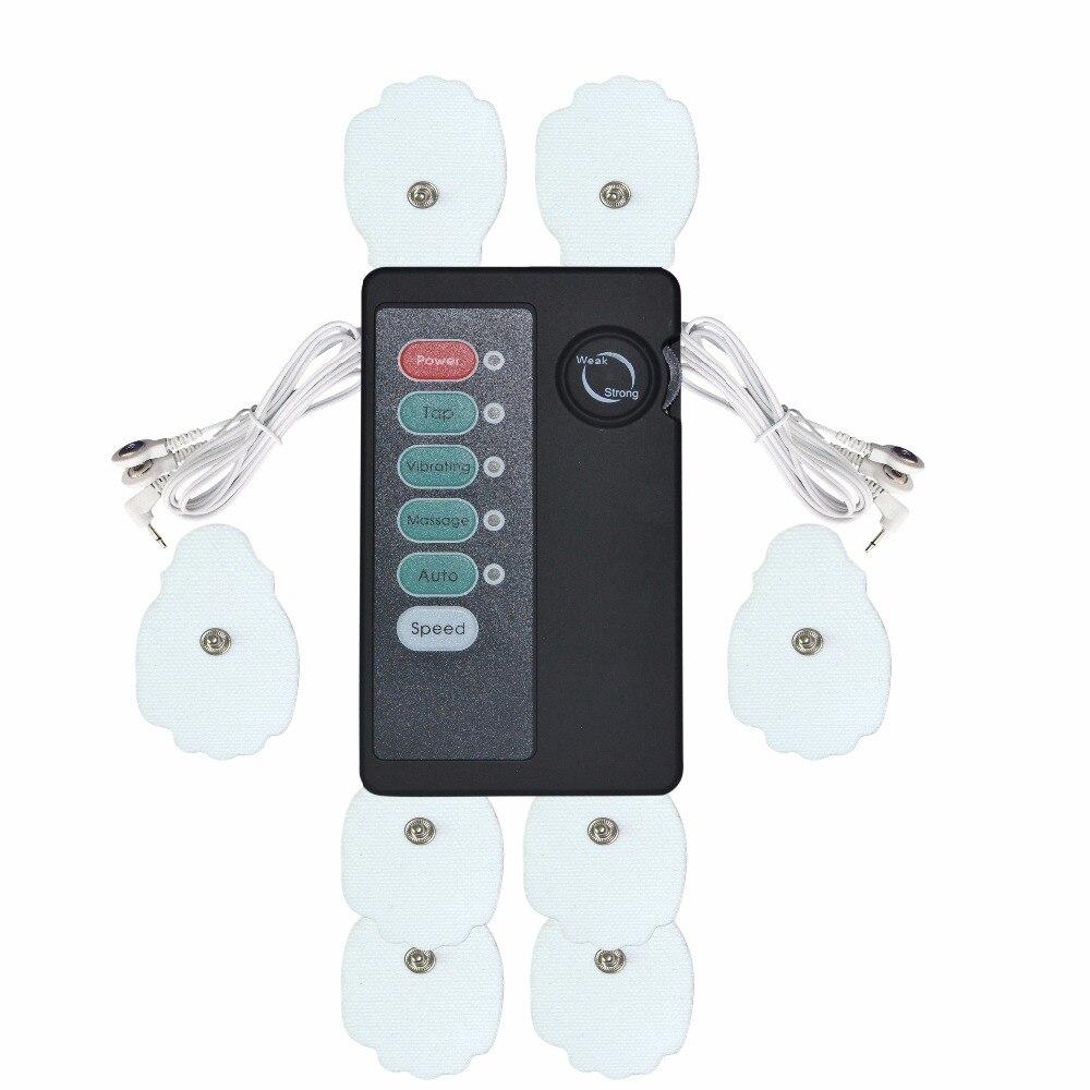 XFT 502 электрический стимулятор мышц тренер цифровой терапевтический массажер Акупунктура пульса полный Расслабление тела массаж устройств