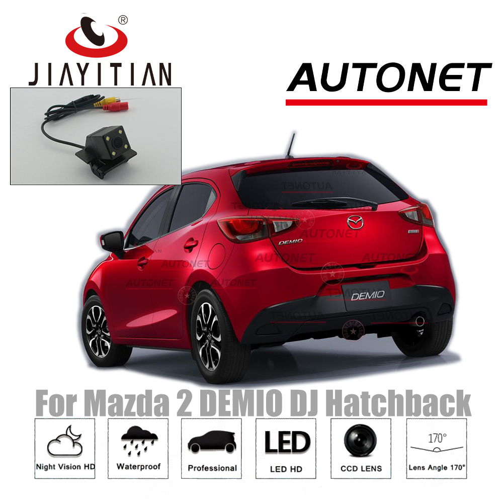 JIAYITIAN Rear View Camera For Mazda 2 DEMIO DJ 2014~2018 reserved hole CCD/Night Vision/Reverse Camera/Backup Parking Camera цена