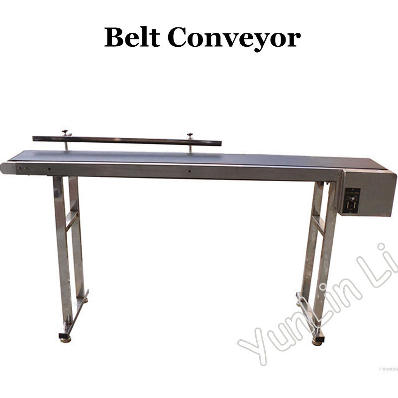 Belt Conveyor Customized Band Carrier for Bottles/ Food/ Products 1m-2m Customized Moving Belt Rotating Table SYB-01 customized products 30pcs cf cards