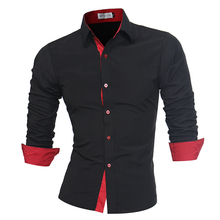 Men Shirt Brand 2018 Male High Quality Long Sleeve Shirts Ca