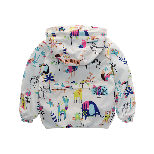 Spring  New Cotton Baby Girls Coat
