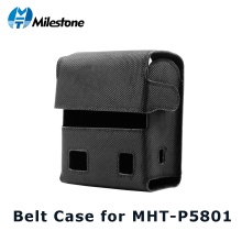 Milestone Cases for Thermal Bluetooth Printer MHT-P5801 Mobile Case Light Black Free Shhipping