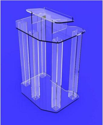 Acrylic Pulpit / Acrylic Podium / Lectern / Pulpit / Acrylic