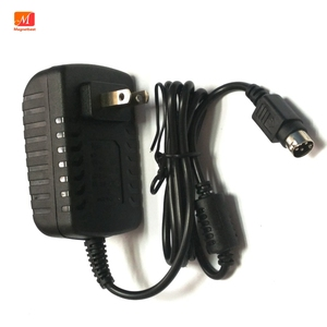 Image 4 - EU Power Adapter 12 โวลต์ 2A 4 PIN สำหรับ Hikvision video recorder 7804 7808H SNH cwt KPC 024F DVR NVR power adapter charger