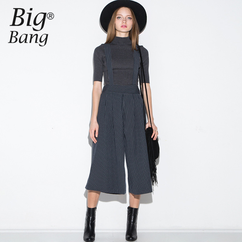 Popular Suspender Pants Wide Leg-Buy Cheap Suspender Pants Wide ...