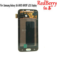 Redberry High Quality LCD For Samsung Galaxy S6 LCD Display Touch Screen Digitizer Assembly G920 G920F
