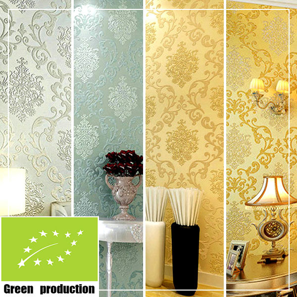 Old Fashioned Floral Wallpaper Designs For Living Room Pattern ...