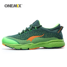 ONEMIX New Mens Running Shoes Breathable Outdoor Sport Shoes Men's Athletic Shoes Men's Shoes Free Shipping Size EU 39-46