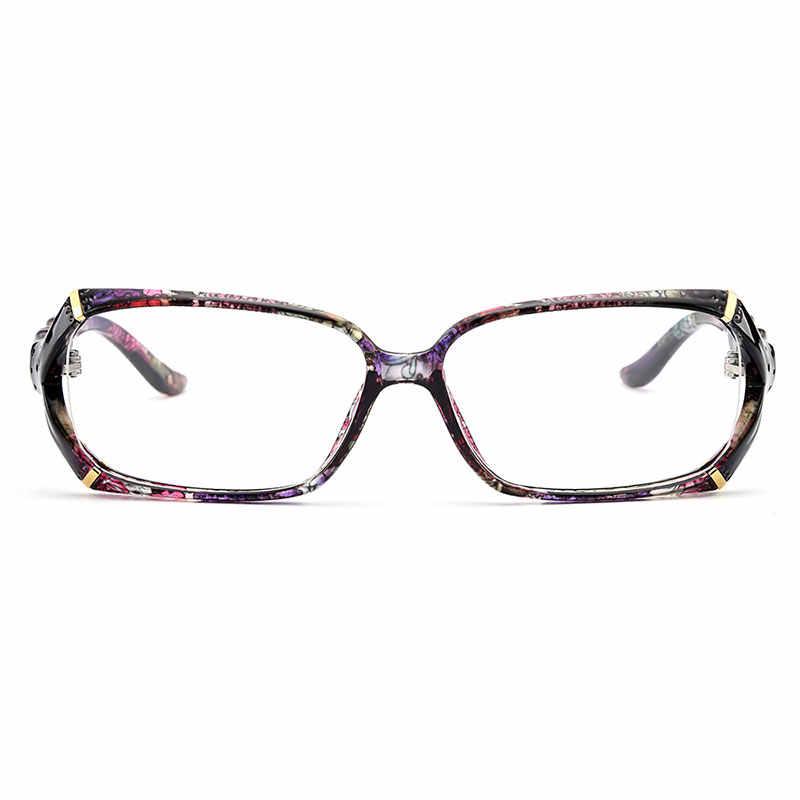 Hàng Mới Về Gmei Quang Nhiều Màu Sắc Urltra-Đèn TR90 Nữ Full Viền Quang Mắt Kính Gọng Kính Nữ Nhựa Cận Thị Kính Mắt M1242