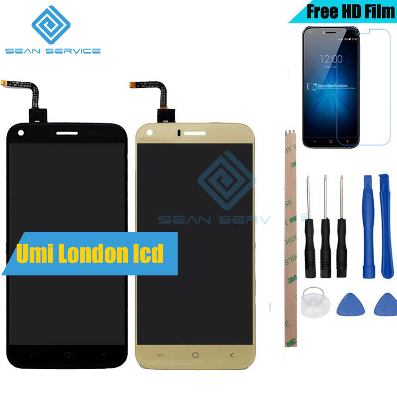 For Original UMi London LCD Display and Touch Screen Digitizer Assembly lcds +Tools 5.0 inch 1280x720P 100% Tested in StockFor Original UMi London LCD Display and Touch Screen Digitizer Assembly lcds +Tools 5.0 inch 1280x720P 100% Tested in Stock