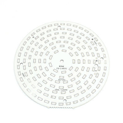 120mm Round Aluminum PCB Circuit Board for 1/2W 5730/5630
