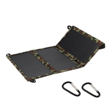 30W 5.5V 2A Sunpower Dual Usb Foldable Solar Panel Camping Hiking Phone Charger цены