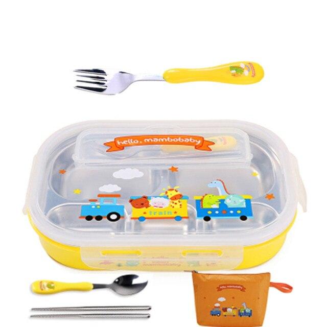 Yellow  fork and bag Cheap bento boxes 5c6479e2eddf7