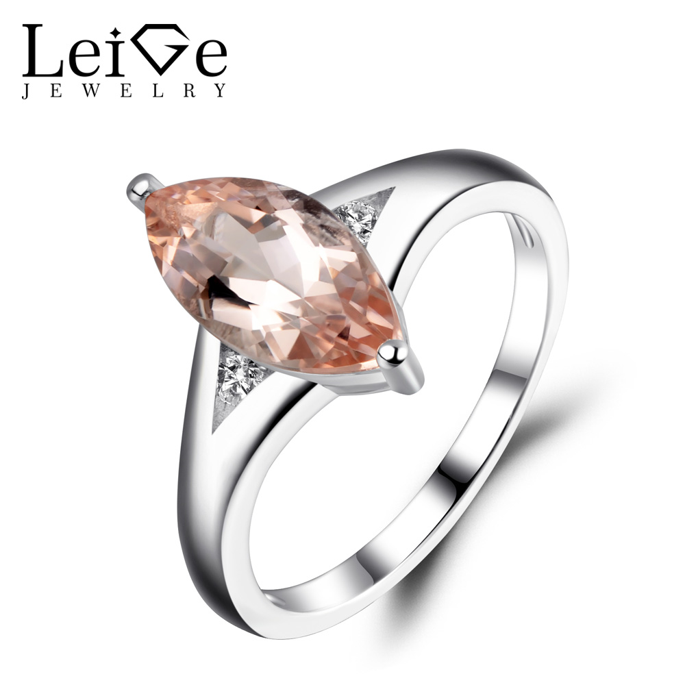 promise ori gemstone ring engagement pink details tourmaline square natural rings