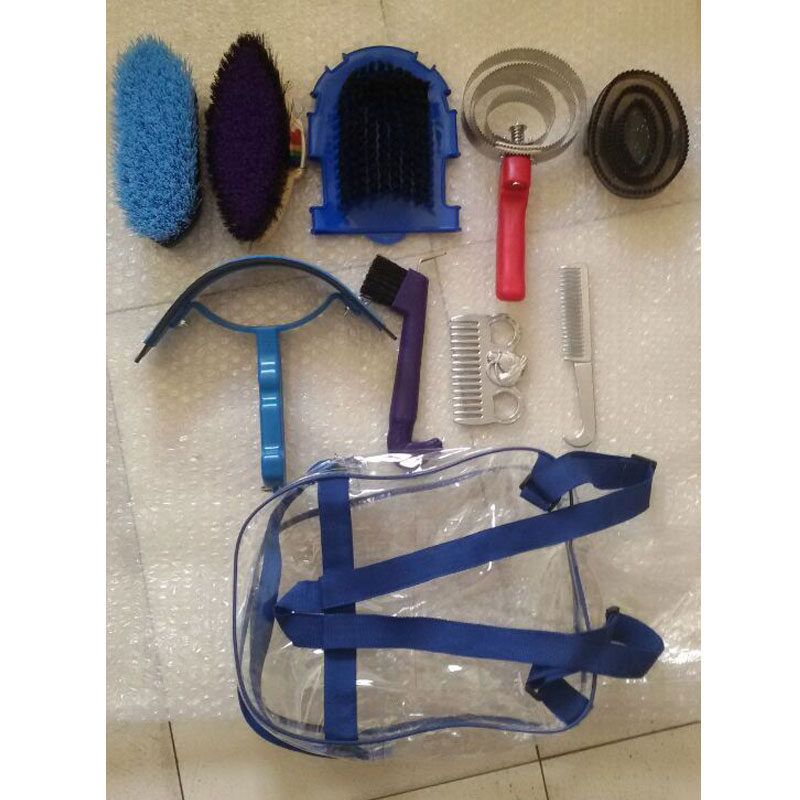 MOYLOR Horse Cleaning Tool 10 Pcs/lot Horse Riding Racing Equipment Horse Massage Brush Paardensport Equitation Cheval A $ 1