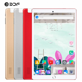 BDF New 10.1 Inch Tablet Pc Octa Core 1920*1200 IPS Android 7.0 4GB RAM 32GB ROM 3G Phone Call Dual SIM Card Tablet 7 8 9 10 Tab