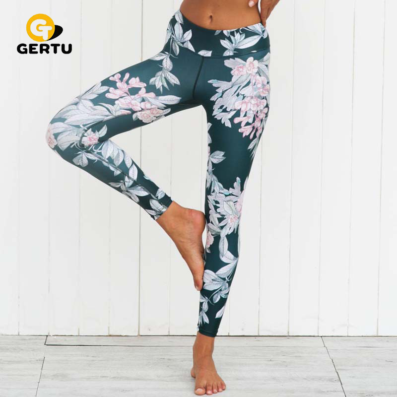 GERTU 2018 Neue Frühling 3D gedruckt sporting frauen leggings sexy fitness dame legging freizeit frauen gymming leggings