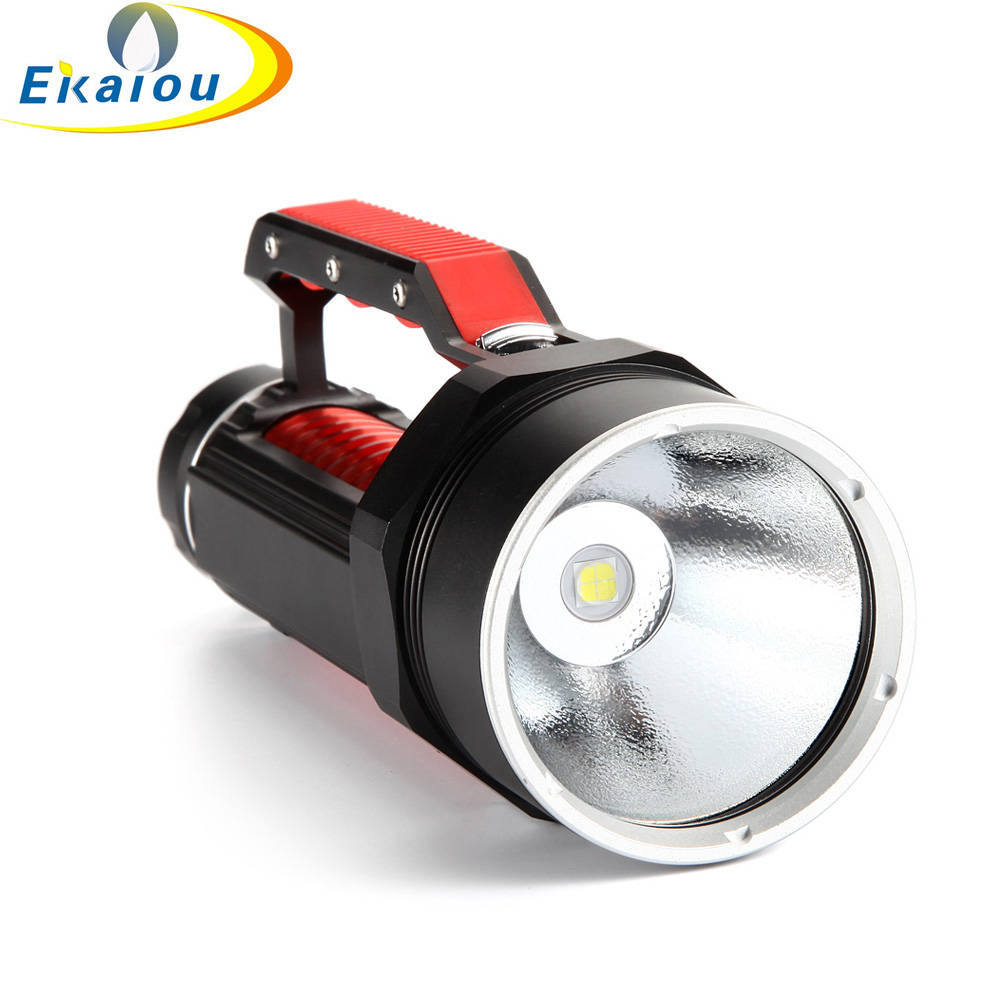 2018 New Portable LED Flashlights 15000 lumens Cree XHP70 LED Flashlight Torch 26650 Rechargeable Batteries Torch Searchlight