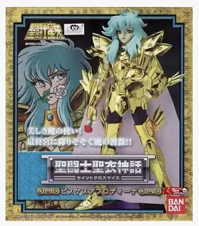 Anime Saint Seiya Original BANDAI Tamashii Nations Saint Cloth Myth 1.0 Soul of Gold Action Figure - Pisces Aphrodite CLOTH saint seiya soul of gold original bandai tamashii nations saint cloth myth ex action figure taurus aldebaran god cloth